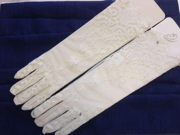 Длинные кружевные перчатки Love Wedding Couture