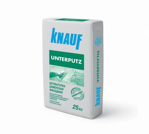Фасадная штукатурка Кнауф унтерпутц