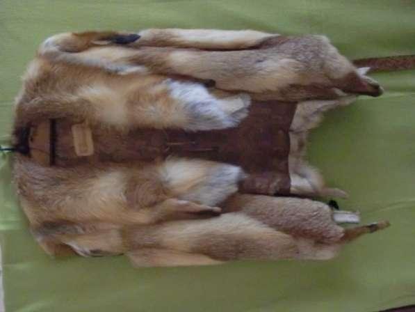 Крутой лисий жилет (дикая лиса) в Москве фото 4