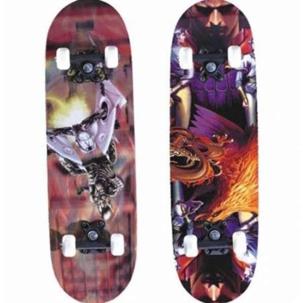 Скейтборд Joerex 0795, пластиковая рама