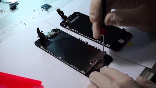 Дисплей с установкой iPhone