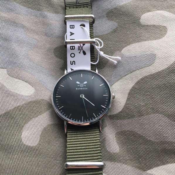 Наручные часы Barbosa (VERDE MILITARE)