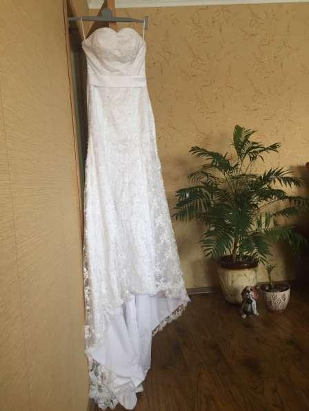 Эксклюзивное свадебное платье в Мичуринске фото 4