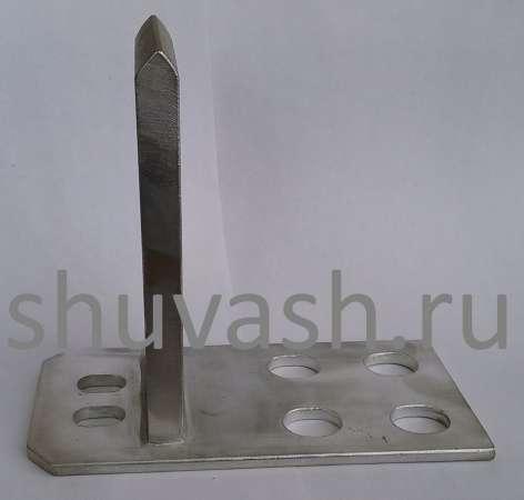 Нож контактный неподвижный верхний для КРУ-2-10