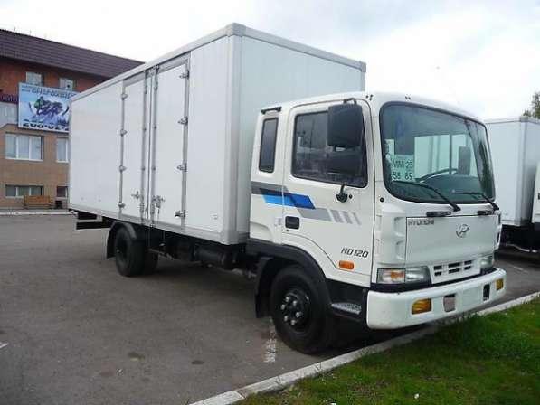Фургон на шасси Hyundai HD120 (Long):