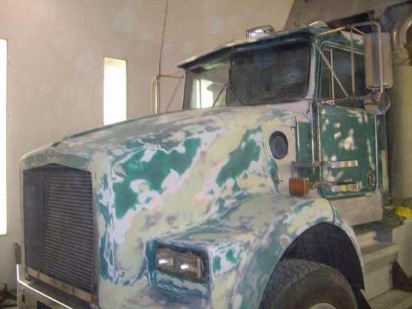 Покраска кабин грузовых автомобилей