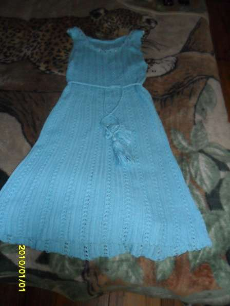 Вязаное платье 46 размер