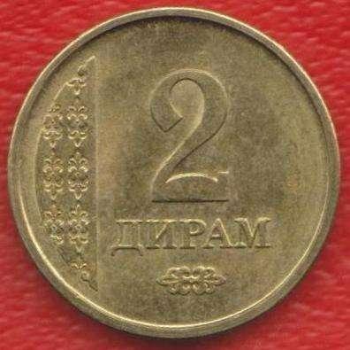 Таджикистан 2 дирам 2011 г.