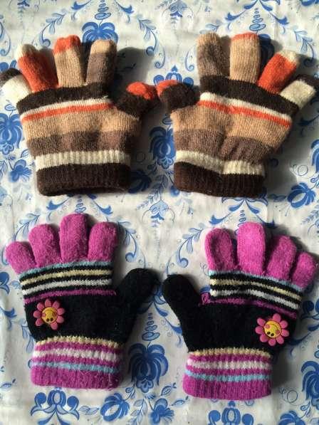 Перчатки на 3-4 года