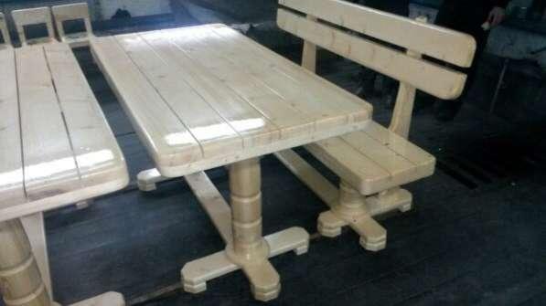 Лавка, скамья, стол
