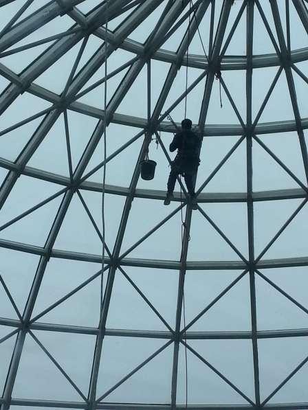 Услуги альпинистов высотные работы