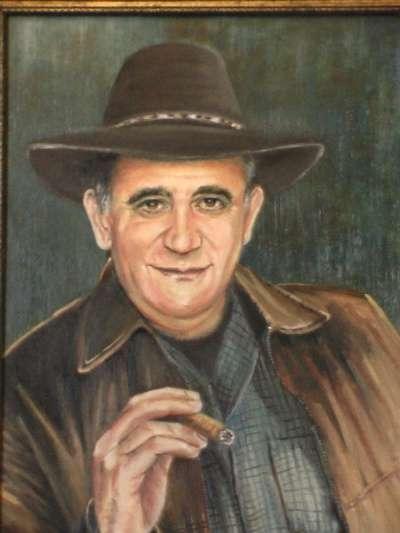 Портрет по фото. Роспись стен