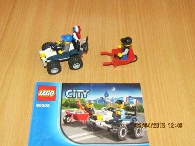игрушку Лего сити Полицейский квадроцикл
