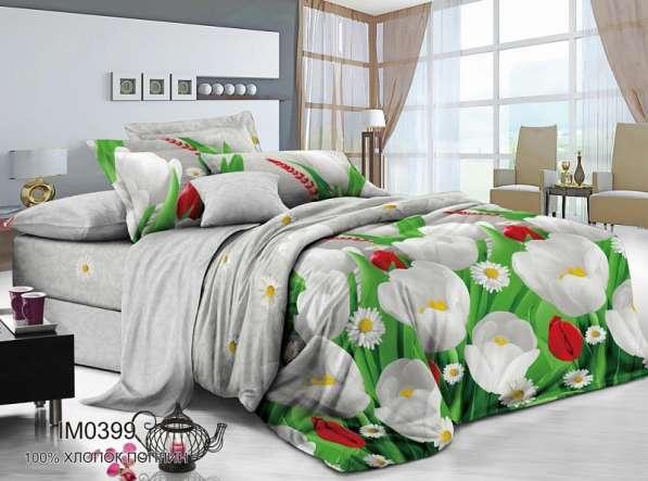 Вариация расцветок и стилей в постельном белье из поплина от в Иванове фото 8