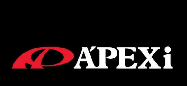 """Табличка на место Японского номера """"APEXI"""". Чёрная. Размер Я"""