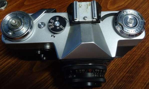 Фотоаппарат ЗЕНИТ-Е с двумя объективами в Самаре фото 6