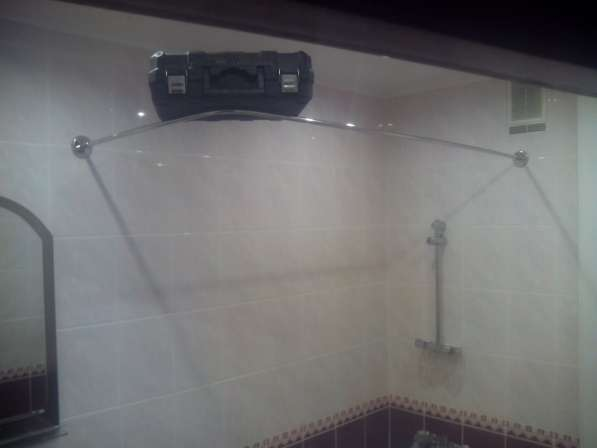 Карнизы, штанги, перекладины для шторки в ванную в Краснодаре
