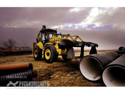 экскаватор NewHolland New Holland B115B