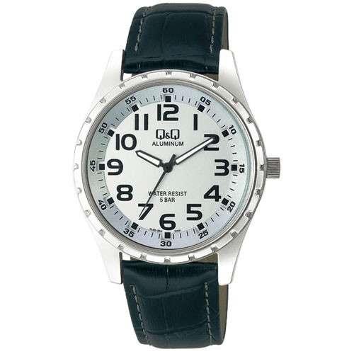 Стильные наручные часы Q&Q AL02 J304 (алюминий)