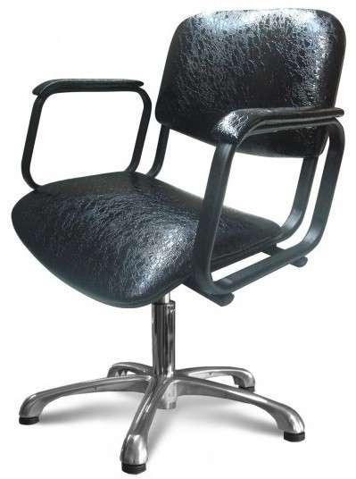 Кресло для парикмахерских Контакт пневматика хром