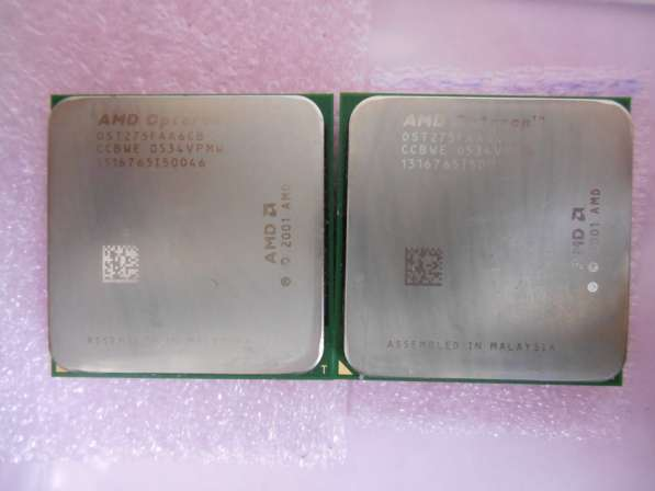 AMD Opteron 275 OST275FAA6CB Dual-Core 2.2Ghz пара