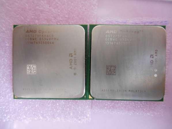 AMD Opteron 275 OST275FAA6CB Dual-Core 2.2Ghz пара