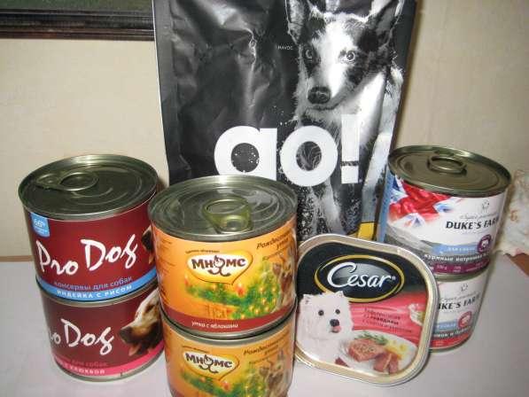 Набор элитных кормов для собак