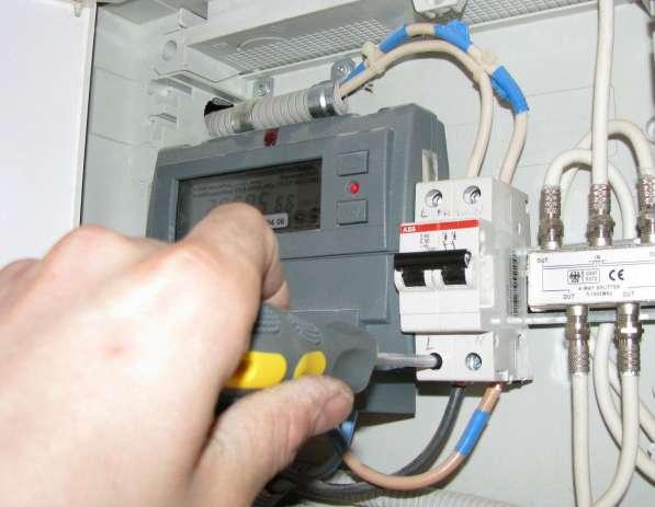 Замена и установка электросчетчиков