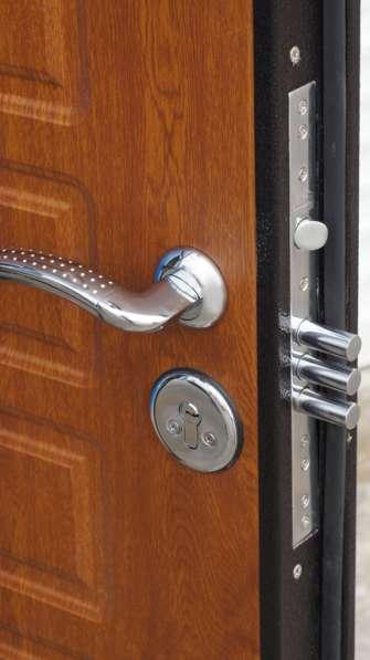 Входные металлические двери в