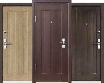 Входные металлические двери от производи