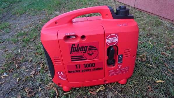 Бензиновый генератор Fubag TI1000