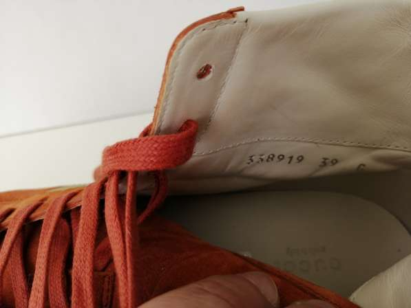 Gucci женская обувь EU 39 новые 100% authentic в