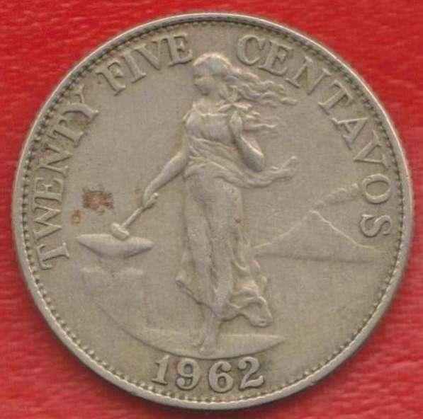 Филиппины 25 сентаво 1962 г.