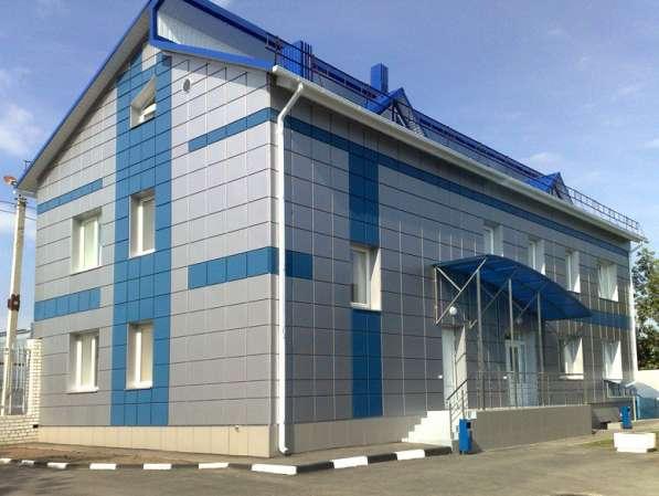 Вентилируемые фасады из композита и керамогранита