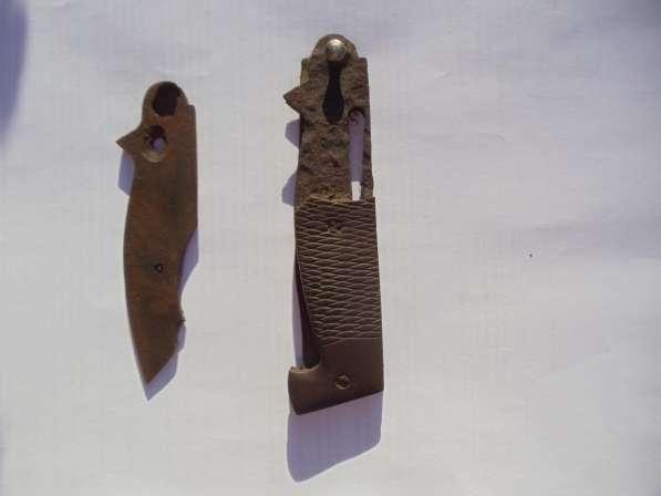 Выкидной нож из немецкого окопа