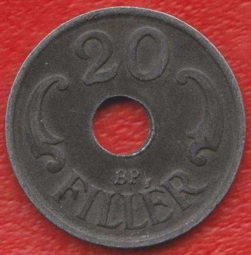 Венгрия 20 филлеров 1941 г