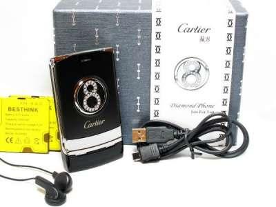 сотовый телефон Cartier 8 Black