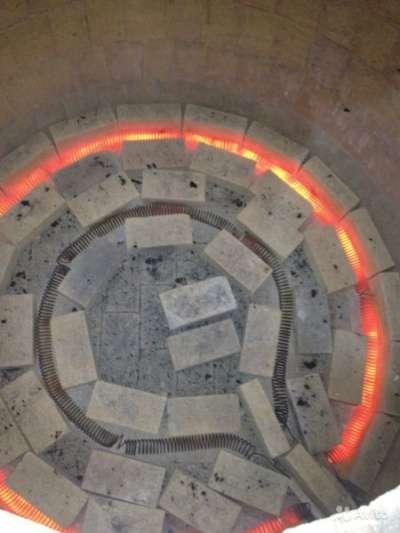 Спираль на тандыра на 220v и 380v нихром спираль на тандыр