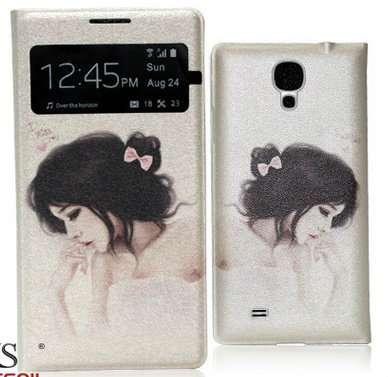 Чехлы для Samsung Galaxy S4/S5 с девушка