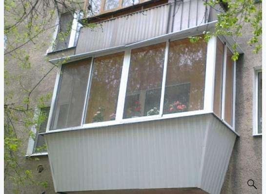 Остекление лоджий и балконов в Екатеринбурге