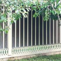 Забор металлический, в Краснодаре