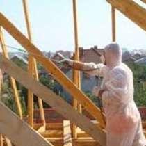 Огнезащита деревянных конструкций, в г.Россоны