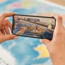 Глобус интерактивный 32 см рельефный Развивающие игры для де, в г.Алматы