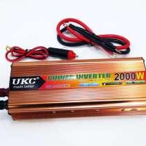 Инвертор 2000W 24V Преобразователь тока AC/DC Gold, в г.Киев