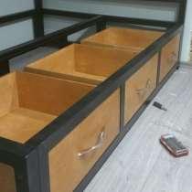Кровать с нишами 2000х1600х400, в г.Минск