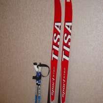 Лыжи (185 см) с лыжными палками (130 и ботинками 38 размера, в г.Видное