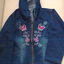 Джинсовая куртка size 17, в Москве