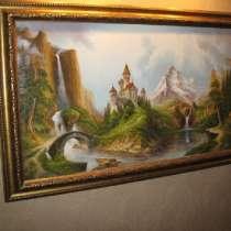 Картина популярного художника неформала А. Стрелкова, в Москве