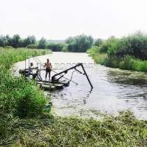 Мини земснаряд для очистки водоёмов, в Вологде