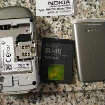 Телефон нокия на запчасти. рабочий частично. Nokia 2760, в г.Ростов-на-Дону
